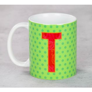 Dotted Topnotch Coffee Mug