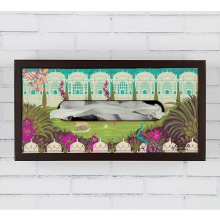 Garden of ascendancy MDF Tissue Box Holder
