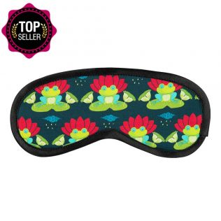 Lotus Toad Eye Mask