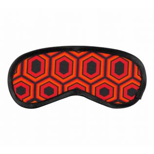 Prismatic Hexagons Eye Mask