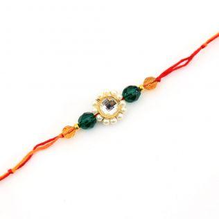 String of Devotion Rakhi