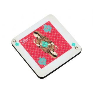 Mughal Queen Playing card Fridge Magnet
