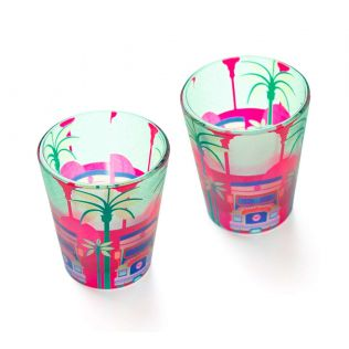 Truck Trimph Shot Glass (Set of 2)