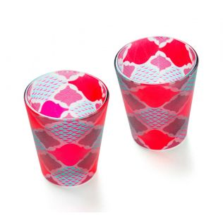Lattice Labyrinthe Shot Glass (Set of 2)