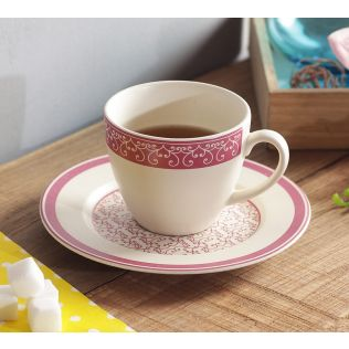 India Circus The Morning Glory Cup and Saucer