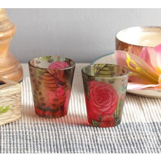 India Circus Herbs of Captivation Shot Glasses Set of 2