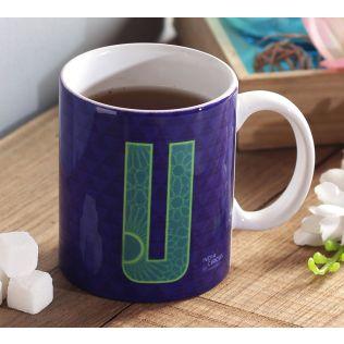 India Circus Upbeat Alphabet U Mug