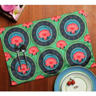 India Circus Platter Symmetry Table Mats Set of 6