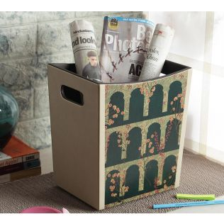 India Circus Cypress Vines Storage Bin