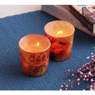 India Circus Forlorn Fates Tea Light Holder Set of 2