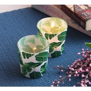 India Circus Pleasant Peduncle Tea Light Holder Set of 2