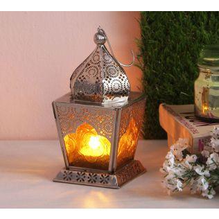 India Circus Dome Small Candle Lantern