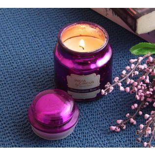 India Circus Pomegranate Rose Yankee Jar Candle
