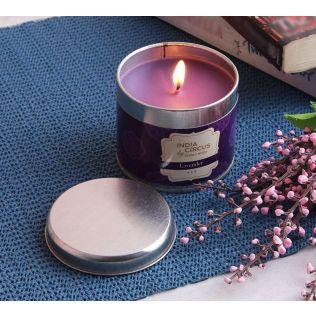 India Circus Lavender Tin Candle