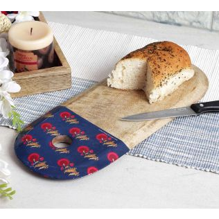India Circus Yale Flower Regalia Cheese/Chopping Board