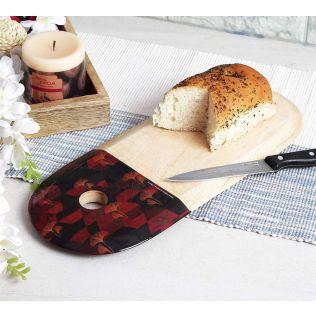 India Circus Geometrical Deluge Cheese/Chopping Board