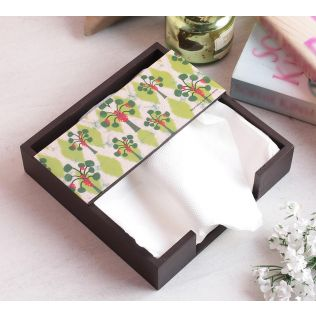 India Circus Invisible Butterflies Tissue Holder