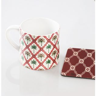 Magic Kingdom Espresso Small Mug (1 Ceramic Mug + 1 PVC Coaster)