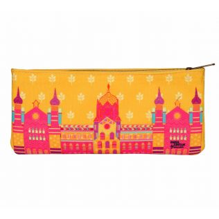 India Circus Bombay Dramatics Small Makeup Pouch