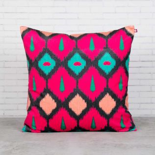 Conifer Symmetry Blended Velvet Cushion Cover