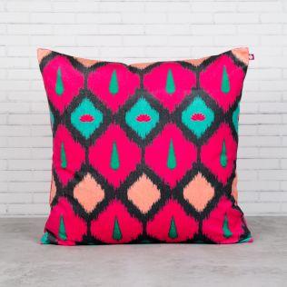 Conifer Symmetry Blended Velvet Cushion Cover