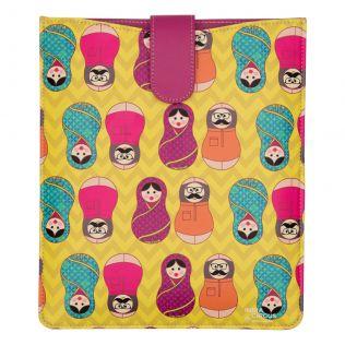 Desi Matryoshka Dolls iPad / Tablet sleeve