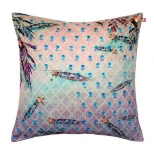 Imperial Trail Poly Velvet Cushion Cover