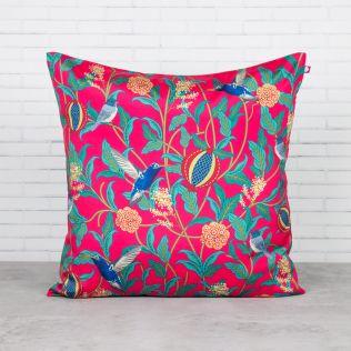 Flights of Vivers Blended Taf Silk Cushion Cover