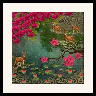 Garden of ShangriLa Framed Wall Art