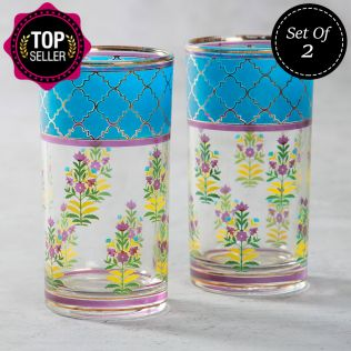Garden of Eva Glass Tumbler (Set of 2)