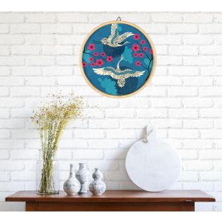 India Circus Aerial Moments Decor Plate