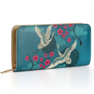 India Circus Aerial Moments Ladies Zipper Wallet