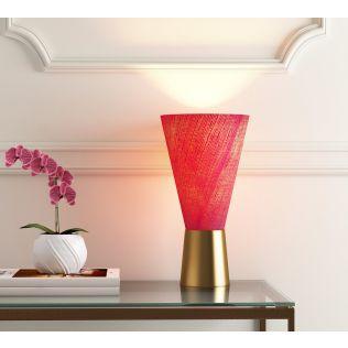 India Circus Amaranthine Conical Lamp
