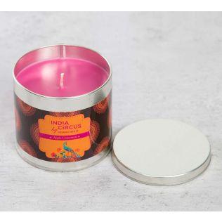 India Circus Apple Cinnamon Tin Candle