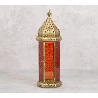 India Circus Arabesque Iron Candle Lantern