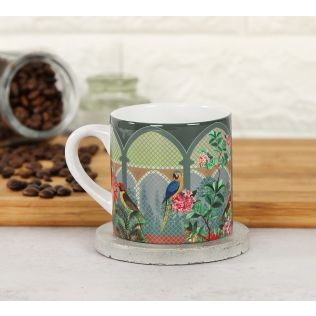 India Circus Arches of Enigma Espresso Mug
