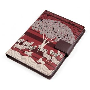 India Circus Art Pasturage Notebook Planner