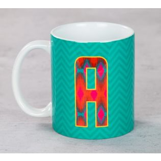 India Circus Awesome Alphabet A Mug