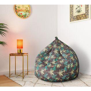 India Circus Baboon's Peek-a-boo Bean Bag Cover