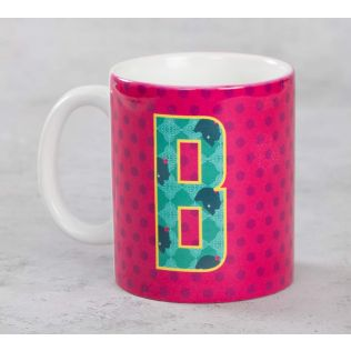 India Circus Bavarian Alphabet B Mug