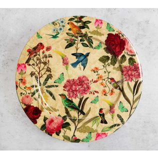 India Circus Bird Land 11 inch Decor Plate