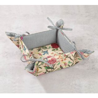 India Circus Bird Land Bread Basket