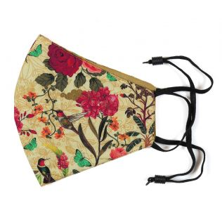 India Circus Bird Land Comfortable Outdoor Face Mask