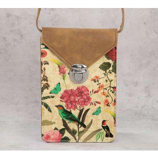 India Circus Bird Land Mobile Sling Bag