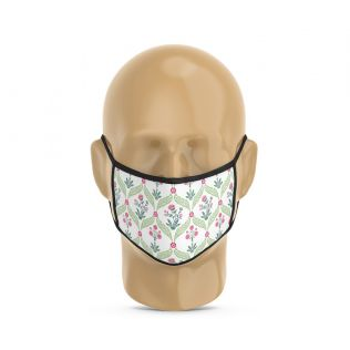 India Circus Blooming Dahila Protective Face Mask