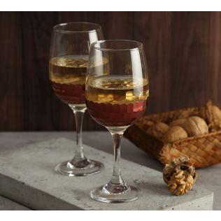 India Circus Bronze Honeycomb Wine Glass (Set of 2)