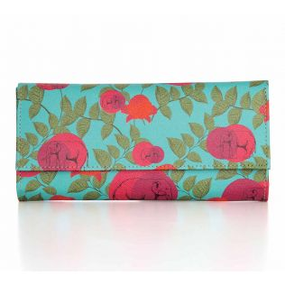 India Circus Buds of Mastadon Ladies Wallet