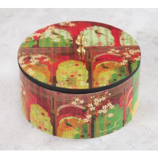 India Circus Capacious Corridor Round Storage Box