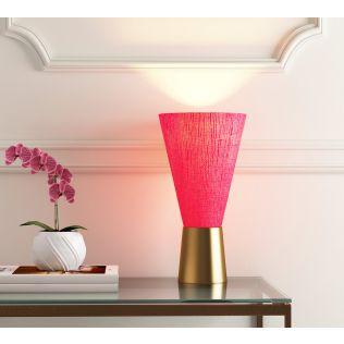 India Circus Cardinal Conical Lamp