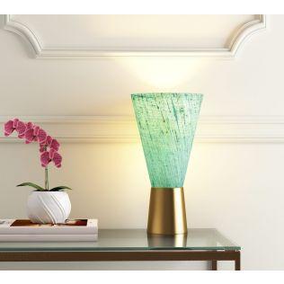 India Circus Cerulean Conical Lamp